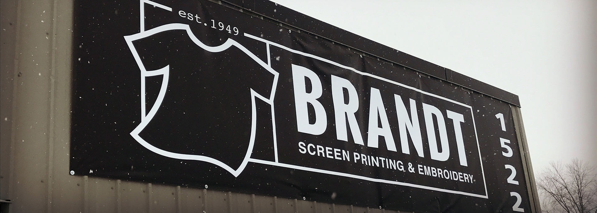 Contact Brandt Screen Printing & Embroidery
